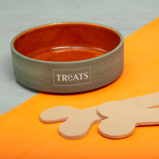 Terracotta Orange Treat Bowl