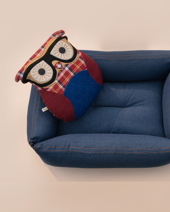 The Sleepy Owl Pillow (Individual Piece)