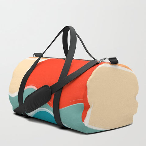 Multi Color Duffle Bag from Society 6