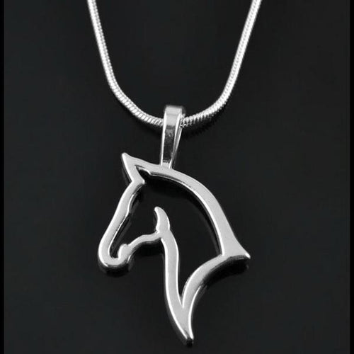 Horse Pendant Necklace - SafeStallion