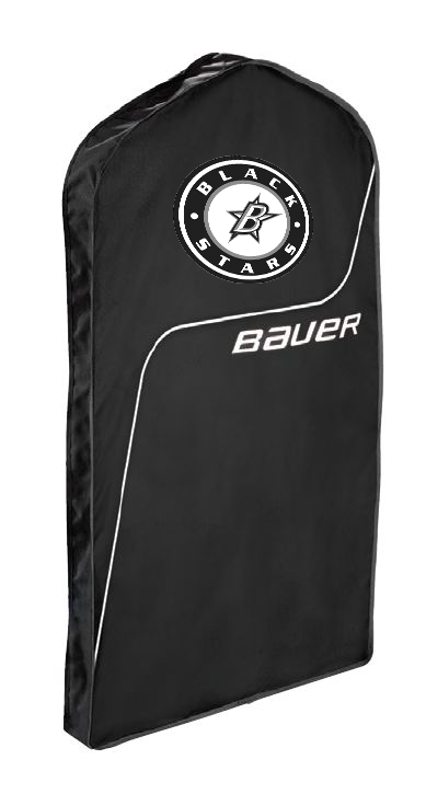 Black Stars Bauer Jersey Bag With Black Stars Circle Logo