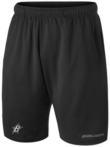 "Black Stars Bauer Core Team Athletic Short With Black Stars ""B"" Logo"