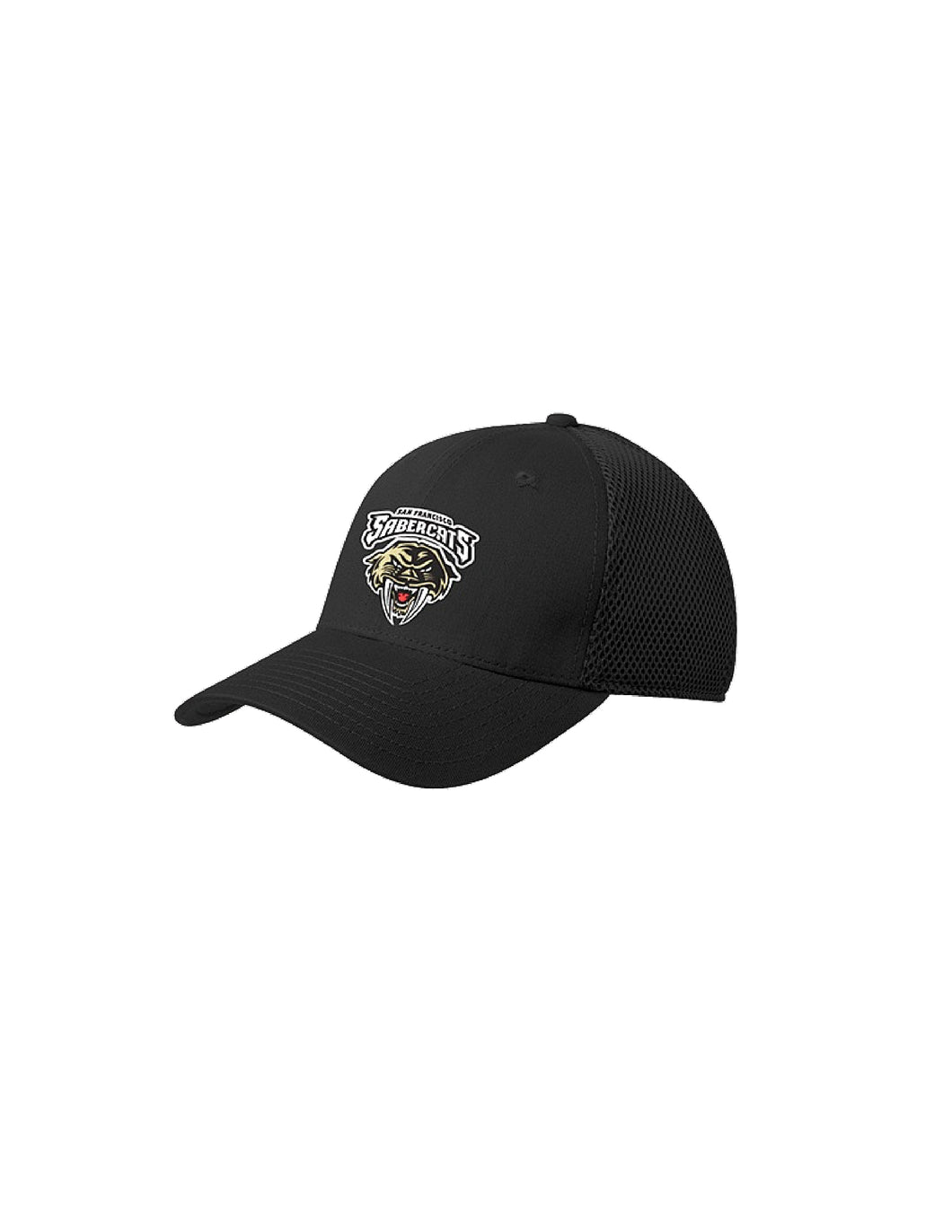 Sabercats New Era® - Stretch Mesh Cap with Embroidered Sabercats Logo (NE1020)