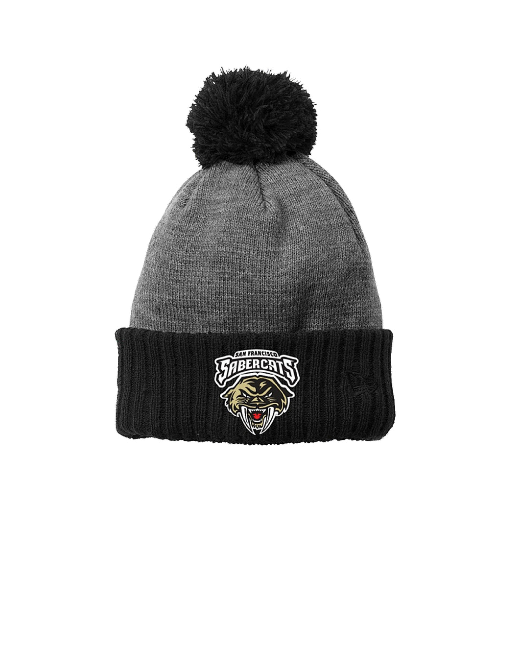 Sabercats New Era ® Colorblock Cuffed Beanie with Sabercats Logo (NE904)