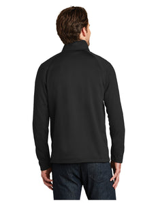 "Black Stars The North Face® Canyon Flats Fleece Jacket Black With Black Stars ""B"" Logo (NF0A3LH9)"