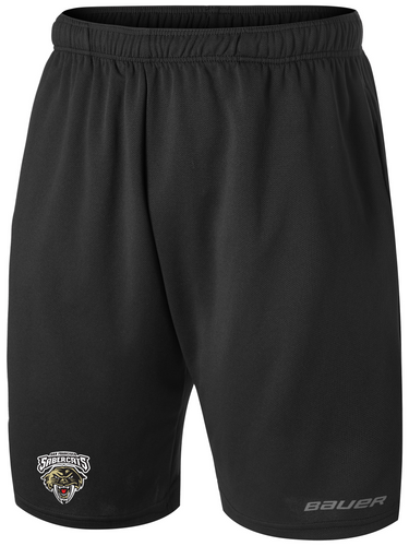 "Sabercats Bauer Core Team Official ""Dry Land Training""  Short With Sabercats Logo"
