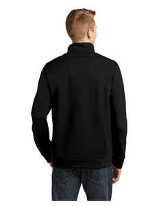 "Black Stars Sport-Tek® Repel Black Fleece 1/4-Zip Pullover With Embroidered Black Stars ""B"" Logo(T291)"