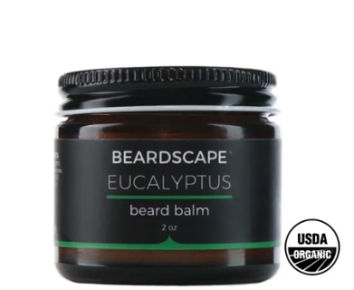Eucalyptus Organic Beard Balms- Eco-friendly & Nontoxic