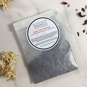 Vegan Activated Charcoal Peel Off Mask- Eco-friendly, Nontoxic, Zerowaste