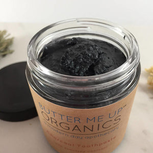Organic Activated Charcoal Toothpaste- Eco-friendly, Nontoxic, Zerowaste