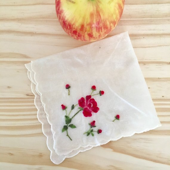 Vintage Handkerchief Food Wax Wrap-Eco-friendly, Nontoxic, Zerowaste