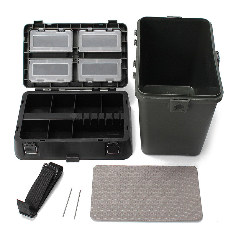 Fishing Tackle Box With Strap Large Capacity Fishing Lures