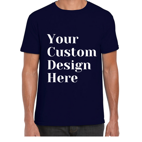 Custom Printed T- Shirt - Your Design or we can Design.