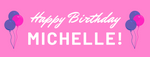 Happy Birthday Banner - Vinyl Banner