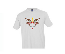Load image into Gallery viewer, Christmas Unicorn T-Shirt