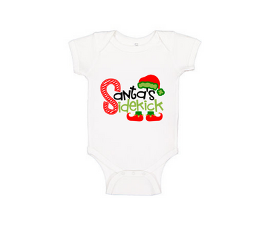 Infant Onesie Santa's Sidekick