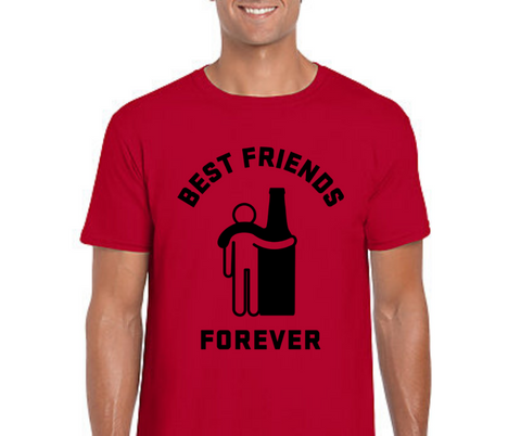 Best Friends Forever with Beer T-Shirt