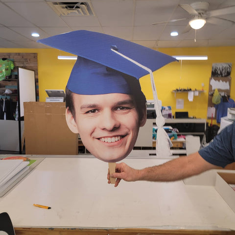 Graduation Senior Big Head/ Fathead Senior Cutouts