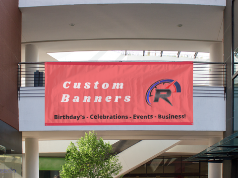 Custom  Vinyl Banner: Various sizes
