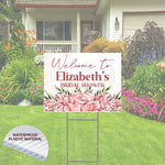 "Bridal Shower Welcome Sign  Yard Sign  24""x 18"""