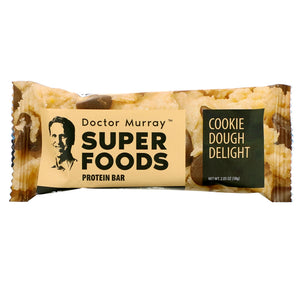 Cookie Dough Delight - Box of 12 Protein Bars