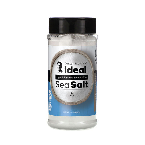 Dr. Murray's, Ideal High Potassium, Low Sodium Sea Salt, 16 oz (453.5 g)