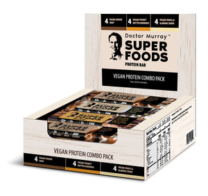 Vegan Protein Combo Pack - Box of 12 Protein Bars