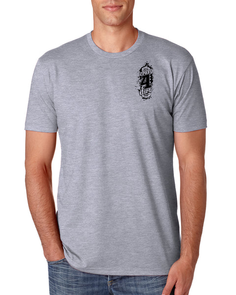 Factory Tee - Gray/White