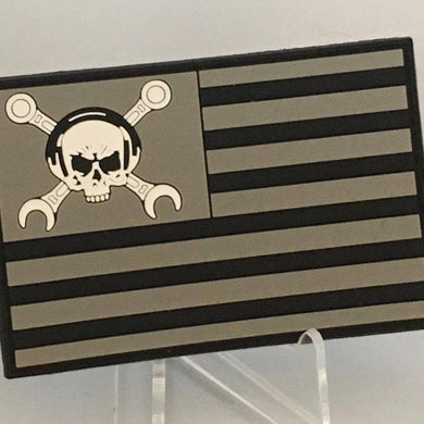Maintainer Nation Black Flag Patch
