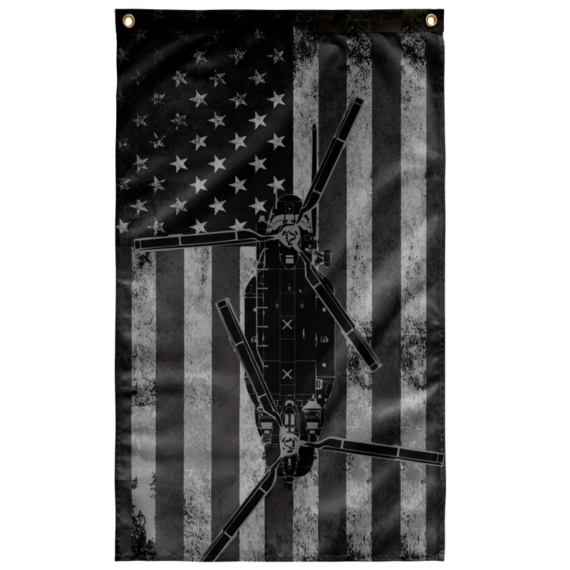 MH-47 Helicopter Shadow Flag