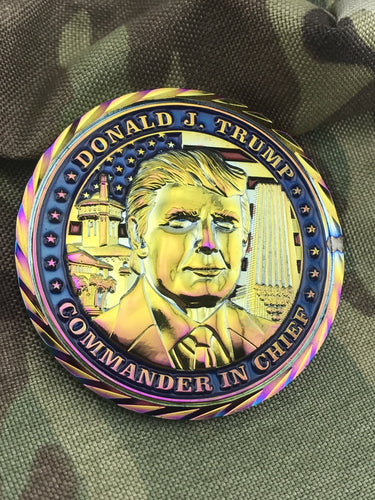 Donald Trump Presidential Challenge Coin - Chameleon Edition
