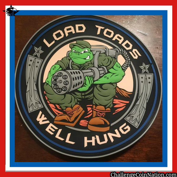 Load Toad 3D PVC Patch