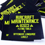 Aircraft Maintenance MX Sticker