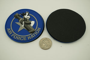 Air Force Nation 3D PVC Patch - Betsy Bombs