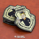 GRADUATE Community College of the Air Force - Embroidered Morale Patch