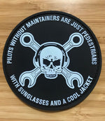 Glow in the Dark Maintainer Nation PVC Patch