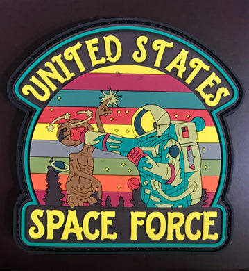 Knocked out E.T. Space Force