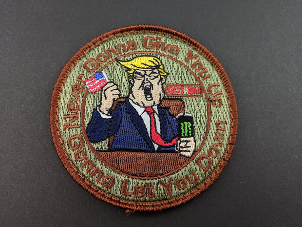 TRUMP Embroidered Morale Patch
