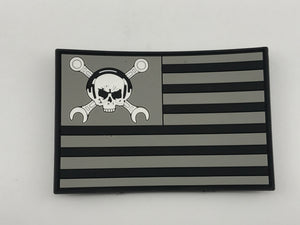 Maintainer Nation Black Flag Morale Patch