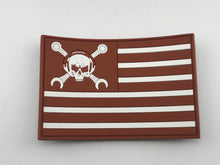 Maintainer Nation Brown Flag Morale  Patch