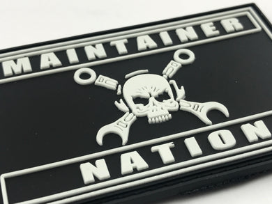 Maintainer Nation PVC Morale Patch