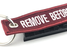 "F-15 Eagle ""Remove Before Flight"" Keychain"