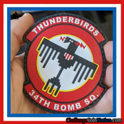 World Famous Thunderbirds - Leather Patch
