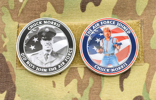 Chuck Norris Challenge Coin