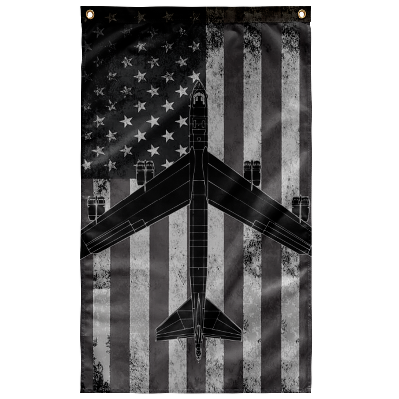 B-52 Bomber Display Flag