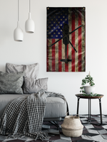 HH-60 Pave Hawk American Flag - Vertical
