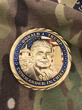 3D Donald Trump Presidential Challenge Coin
