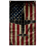 US Navy P-3 Orion Colorized Display Flag