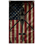 Helicopter Colorized Flag