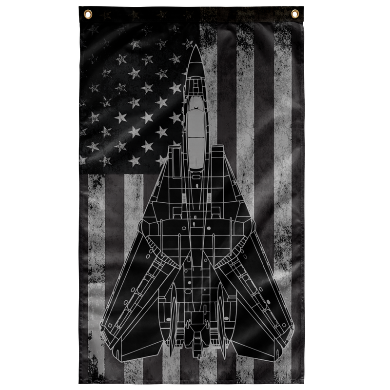 F-14 Tomcat Display Flag